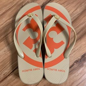 Tory Burch Shoes - 🚫SOLD🚫Tory Burch Orange and Tan Sandals